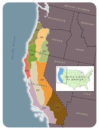 Map Of California To Oregon.Lemma Forest Biomass Mapping In California And Western Oregon